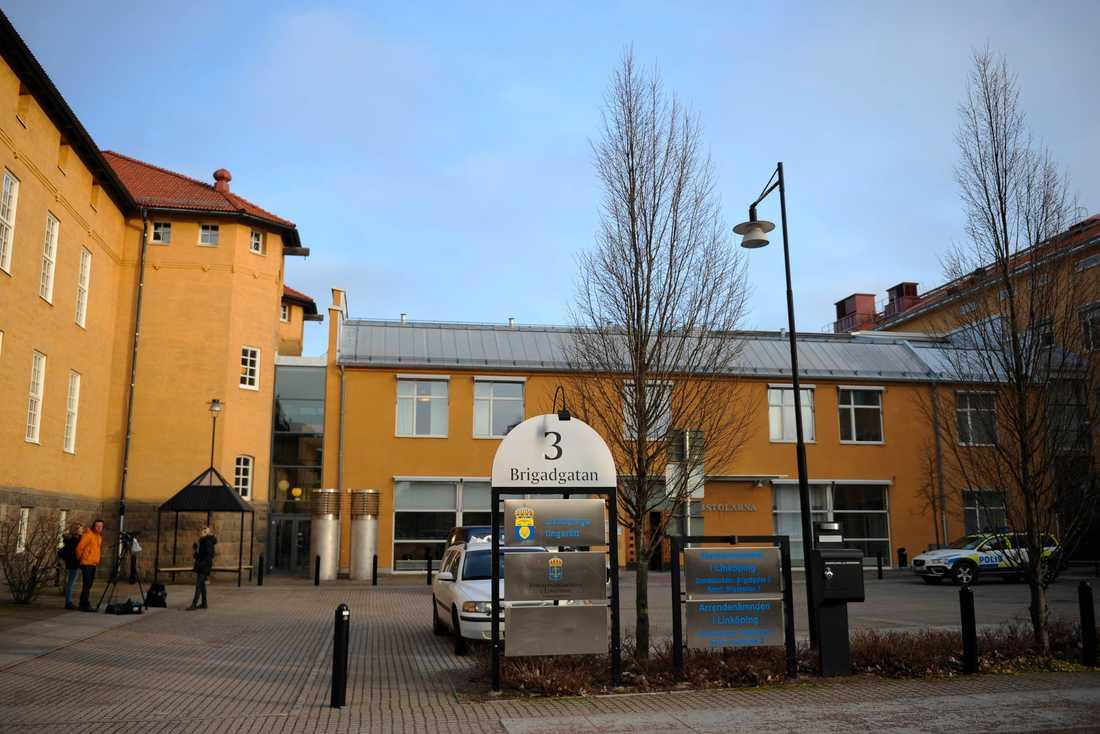 Linköpings tingsrätt. Arkivbild.
