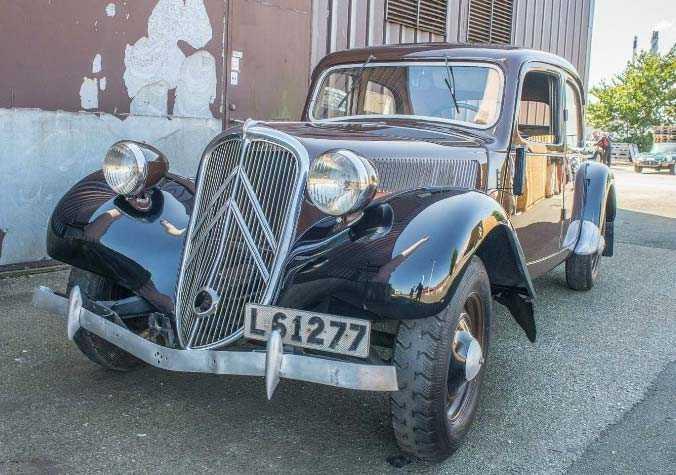 Dag Hammarskjölds Citroën B11 från 1949. Utropspris: 90 000 kronor.