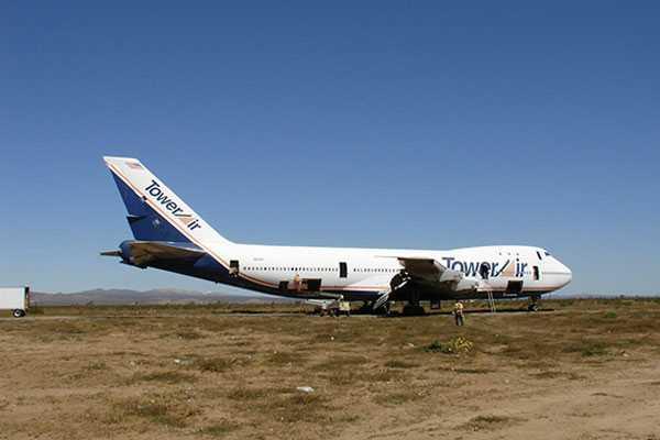 Det började med en gammal Boeing 747 jumbojet...