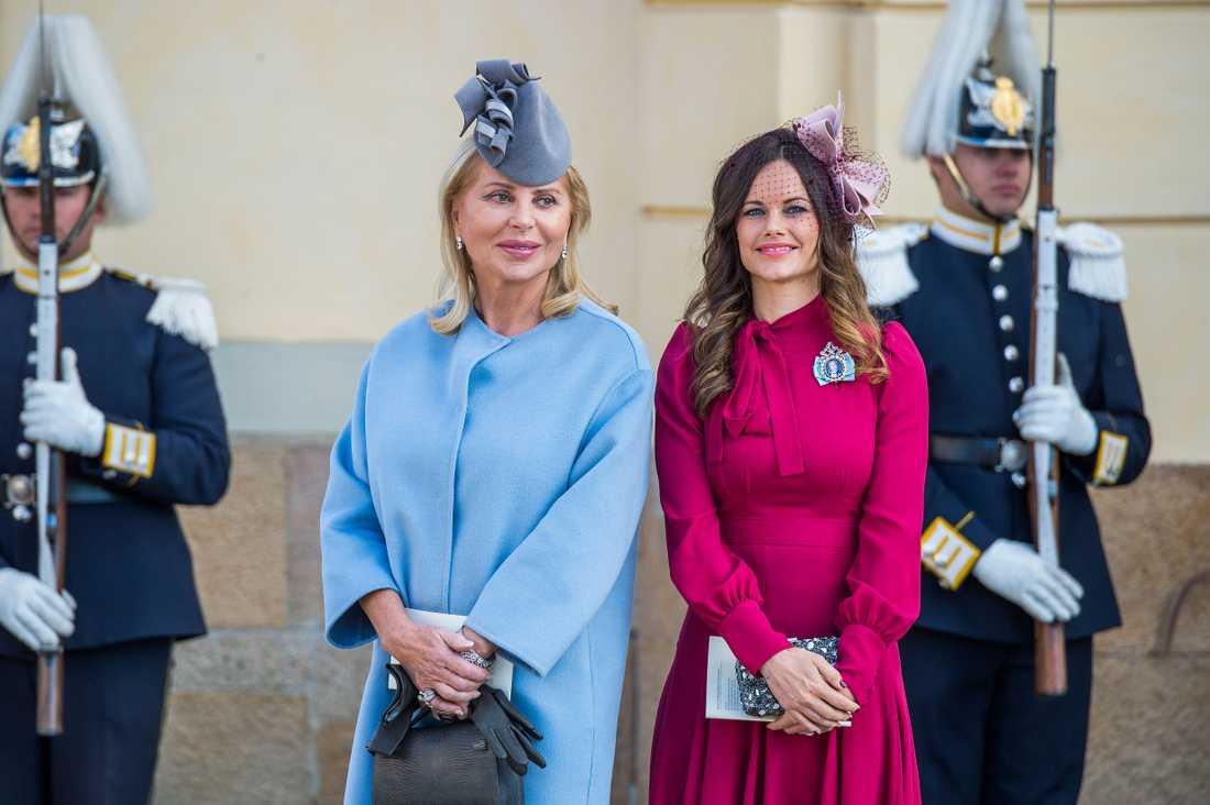 Prinsessan Sofia på prins Nicolas dop.