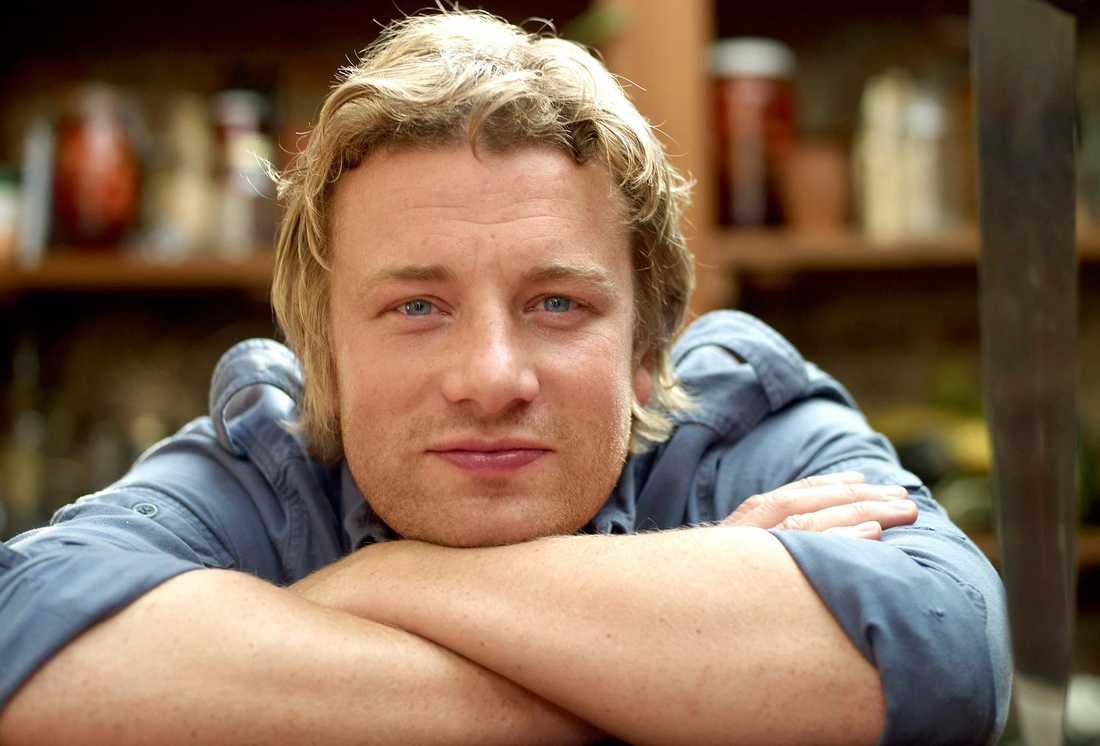 Tv-kocken Jamie Oliver.
