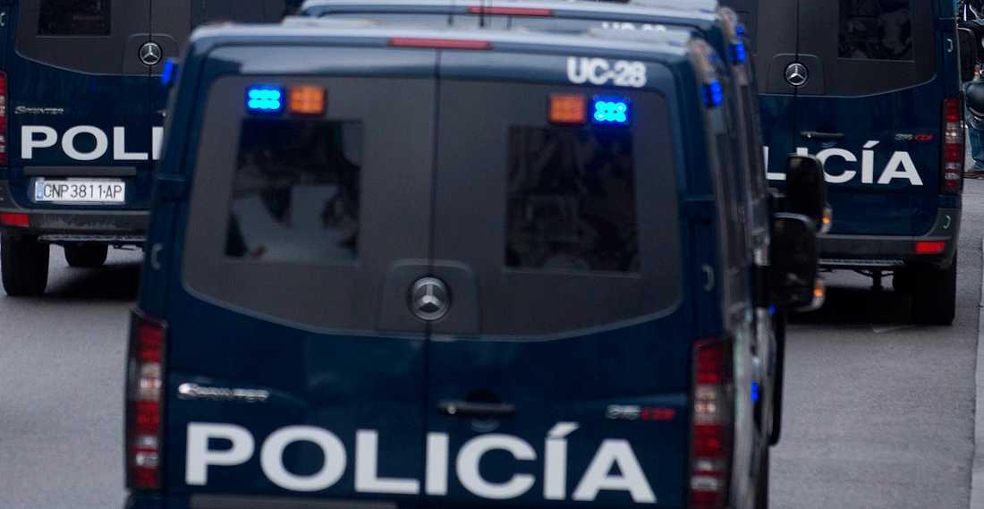 Spansk polis har gripit en kvinna samt hennes dotter och svärson efter planer på att mörda kvinnans partner. Arkivbild.