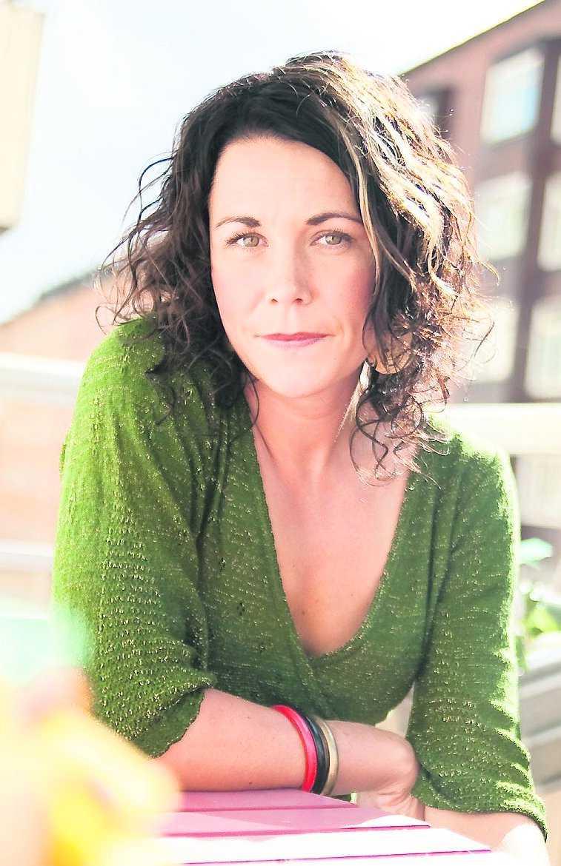 Maria Sveland, författare.