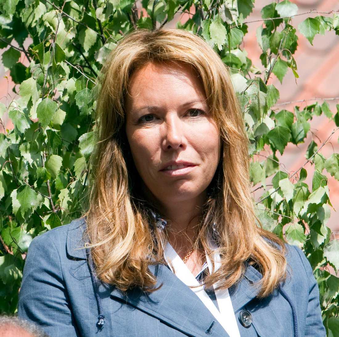 """""""Det är obeskrivligt sorgligt att Jock är borta, skriver tidigare kollegan Anna Bråkenhielm."""