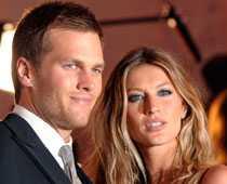 Tom Brady och Gisele Bündchen.