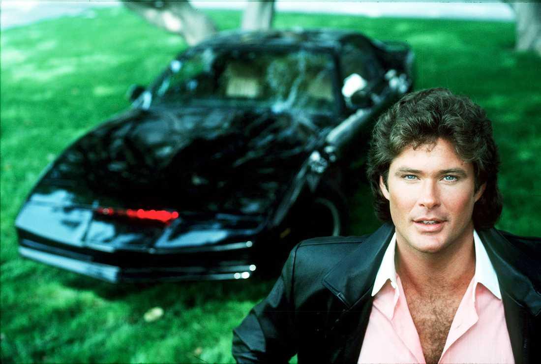 Bilen K.I.T.T. från den klassiska tv-serien Knight Rider hade egen intelligens