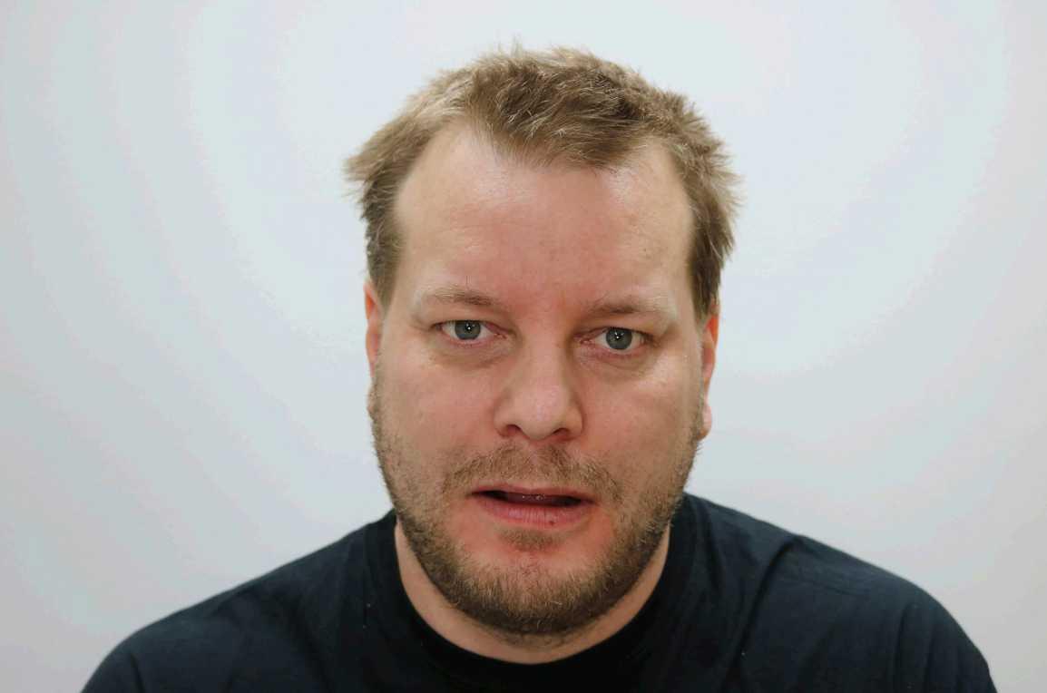 Daniel Nyqvist, 37, står åtalad för dubbelmordet i Linköping 2004.