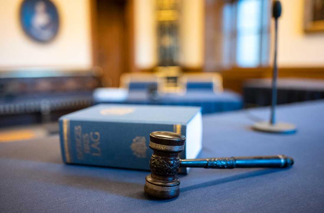 Domstolsverket begär 700 miljoner kronor extra för perioden 2022 till 2024 för att upprätthålla rättssäkerheten. Arkivbild.