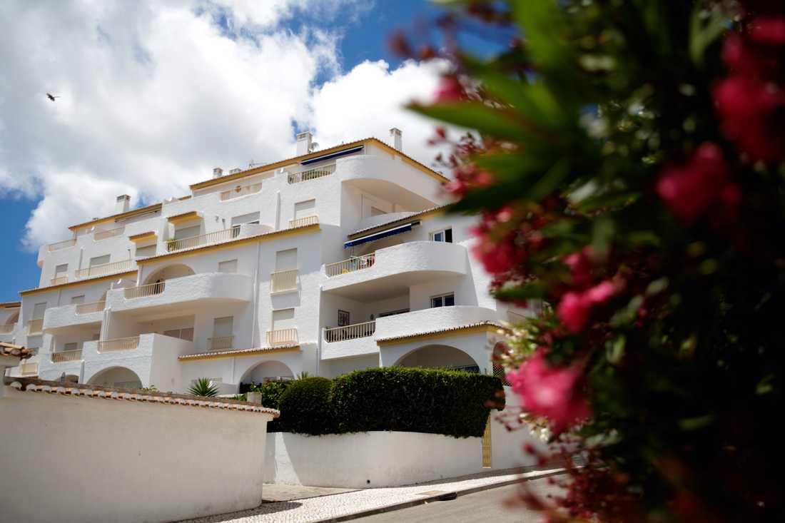 Vid den här hotellanläggningen i Luz i Portugal försvann Madeleine McCann 2007. Arkivbild.