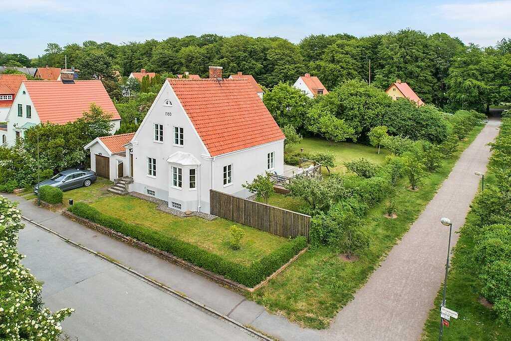 Villan på Värnanäsgatan besöktes mest i förra veckan.