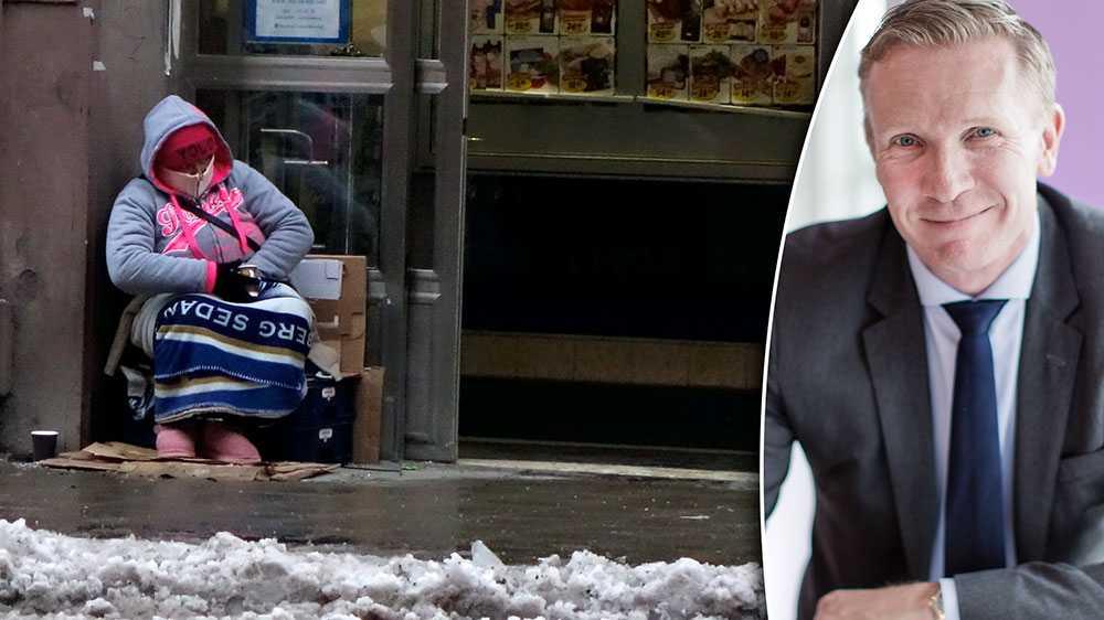 Det behövs istället en tydlig signal om vilket samhälle vi vill ha. Svensk Handel anser att det är hög tid att införa ett nationellt tiggeriförbud, skriver Mats Hedenström, näringspolitisk chef Svensk Handel.