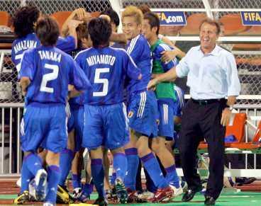 Jubel i VM-klara Japan.