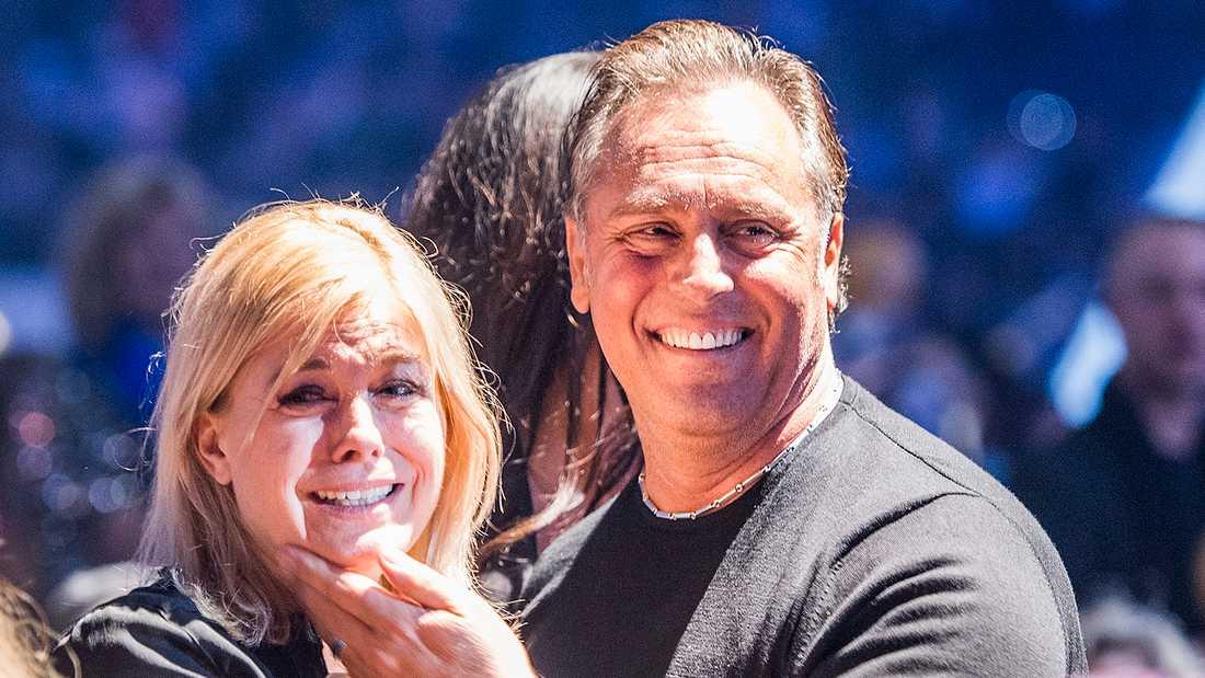 Pernilla Wahlgren och Emilio Ingrosso.