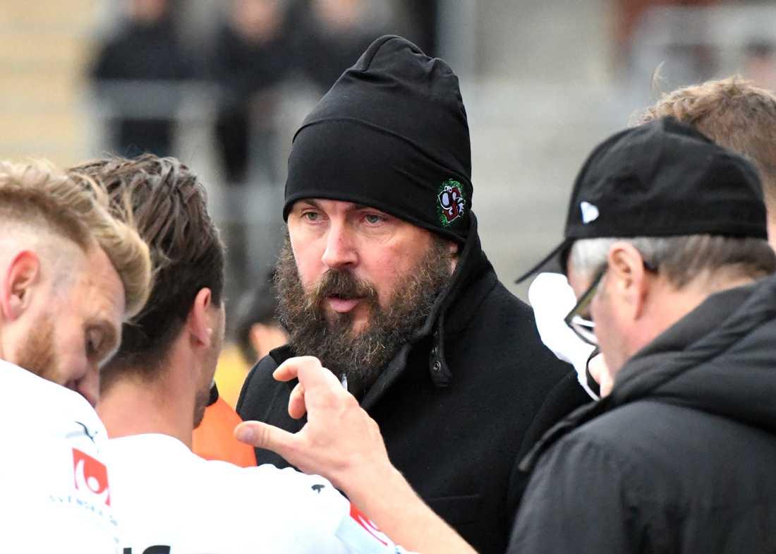ÖSK-tränaren Alexander Axén.