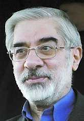 Mir-Hussein Mousavi, valets förlorare.