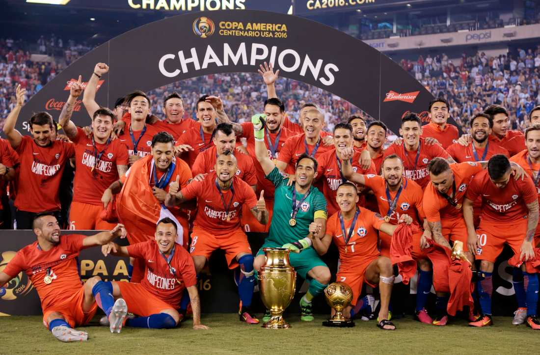 Copa América-segrarna Chile 2016