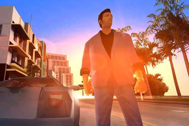 """GTA: Vice City""."