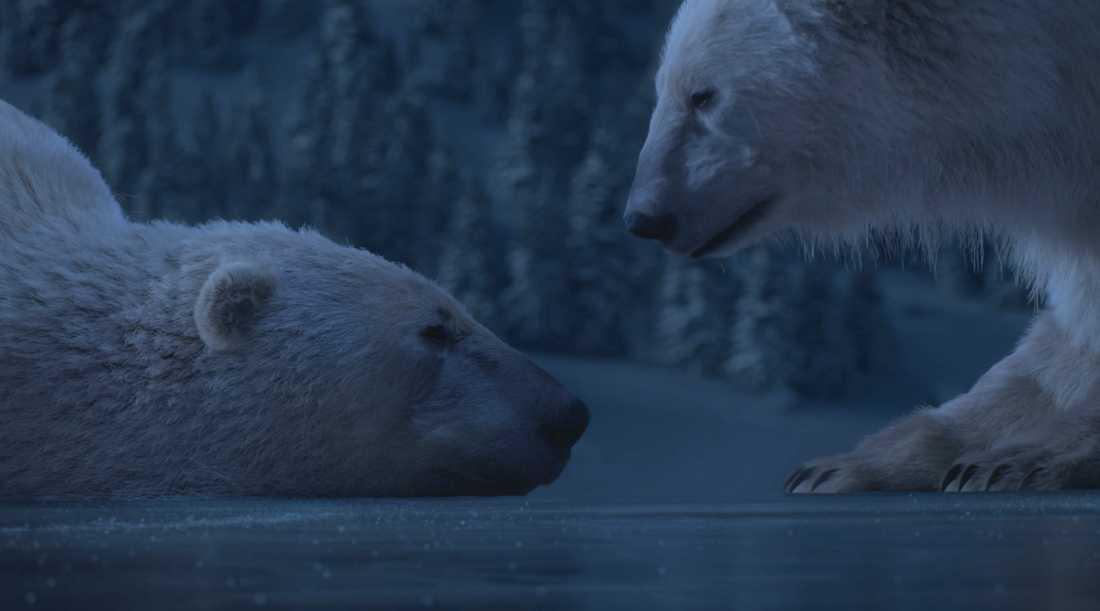 """Goodbye Kansas har bland mycket annat gjort visuella effekter till """"Dancing on ice"""" som visas på brittiska ITV. Pressbild."""