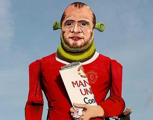 Rooney gjorde sig impopulär hos United-fansen.