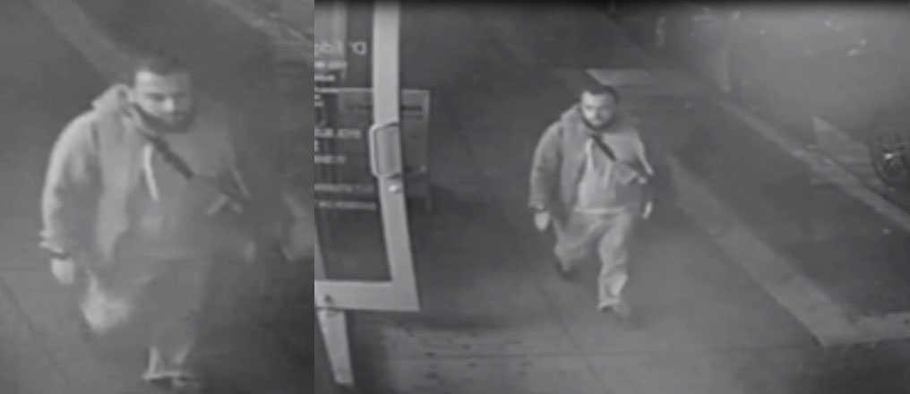 Ahmad Khan Rahami fångad på övervakningskamera.