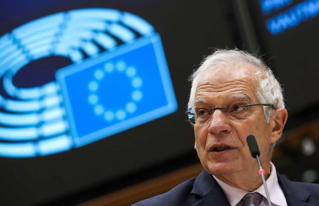 EU:s utrikeschef, spanjoren Josep Borrell. Arkivbild.