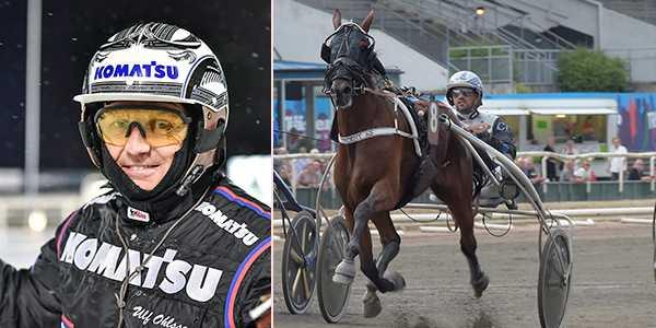 Ulf Ohlsson tillsammans med Vincent As är ett spikförslag på V86.