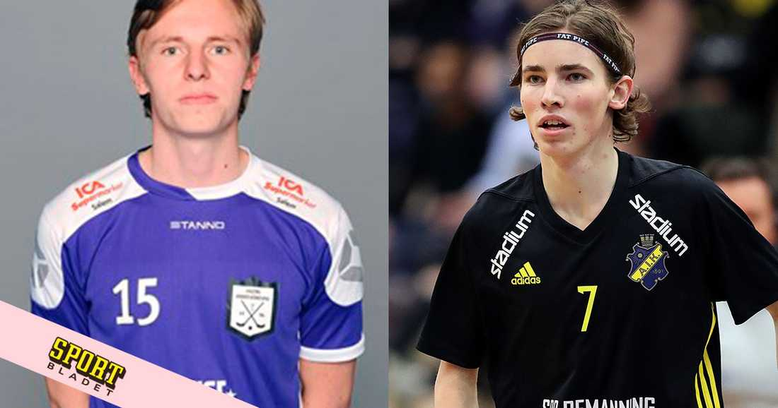 Tobias och Jesper Lindström.
