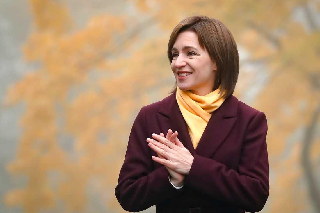 Maia Sandu har valts till president i Moldavien och vill att Ryssland drar tillbaka sina soldater från utbrytarregionen Transnistrien.