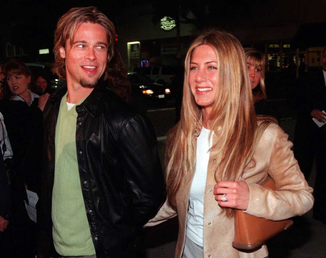 Brad Pitt och Jennifer Aniston.