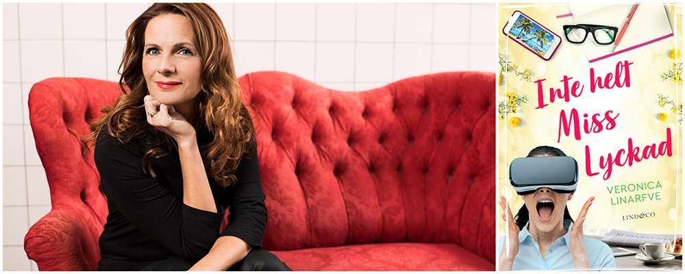 Inte helt Miss Lyckad är Veronica Linarfves andra bok i serien om Louise Locke.