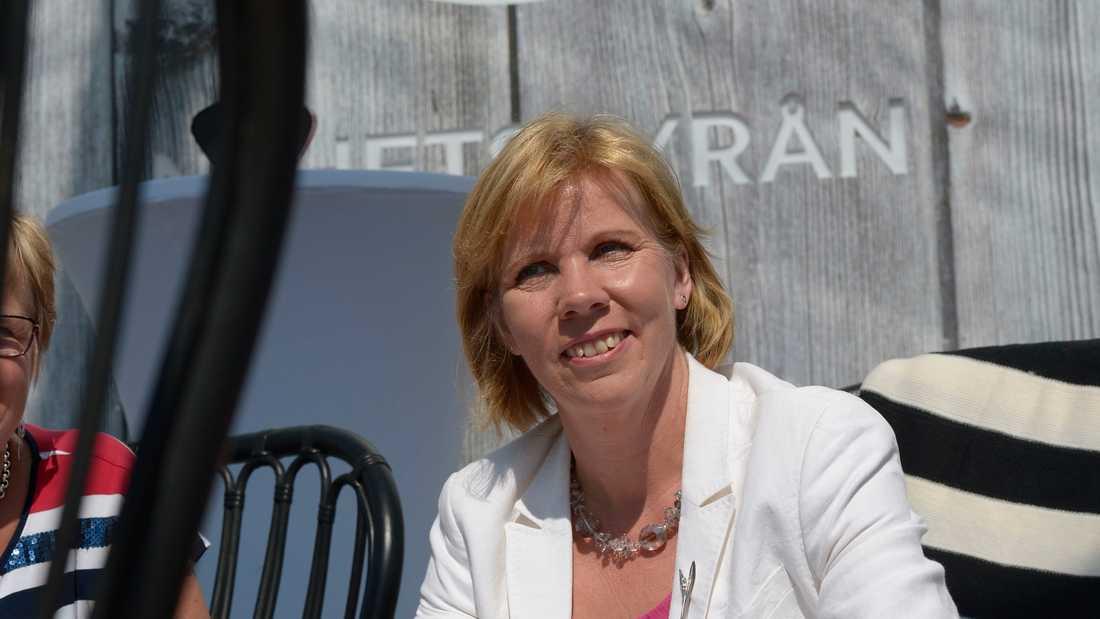 Finlands justitieminister Anna-Maja Henriksson (SFP). Arkivbild.