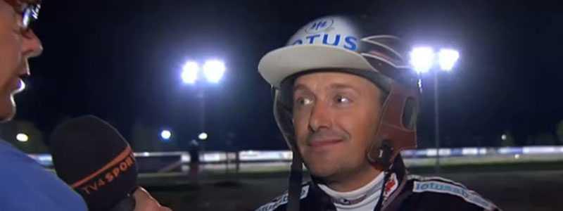 Laddar för superhelg Robert Bergh efter att ha tagit en trippel på V64. I helgen väntar Frankrike och V75-omgången på Bollnäs för stallet.