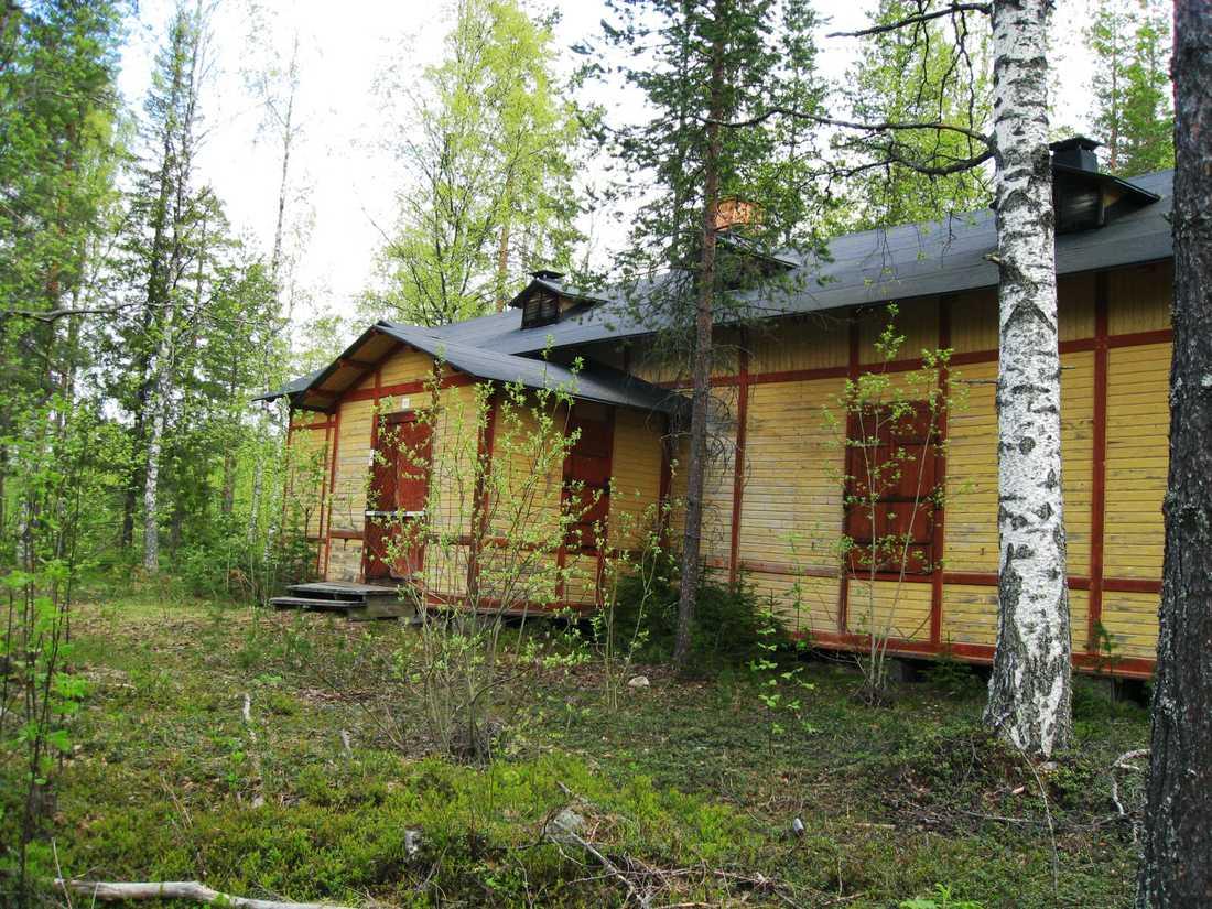 I det gula ödehuset i skogen utanför Boden hittades Vatchareeya Bangsuans avkapade ben.