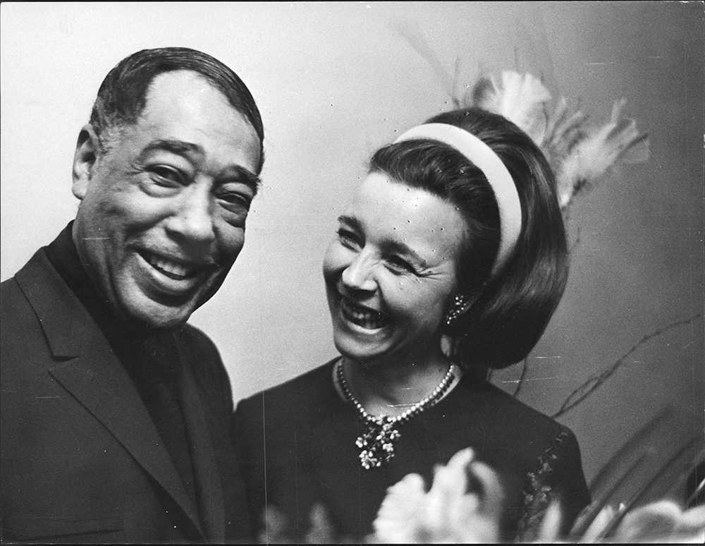 Duke Ellington och Alice Babs