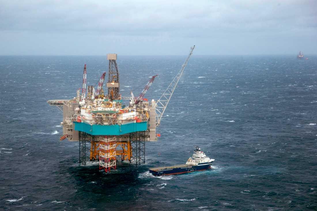 Norge har tack vare intäkter från oljeindustrin världens tredje högsta BNP per capita. Arkivbild.