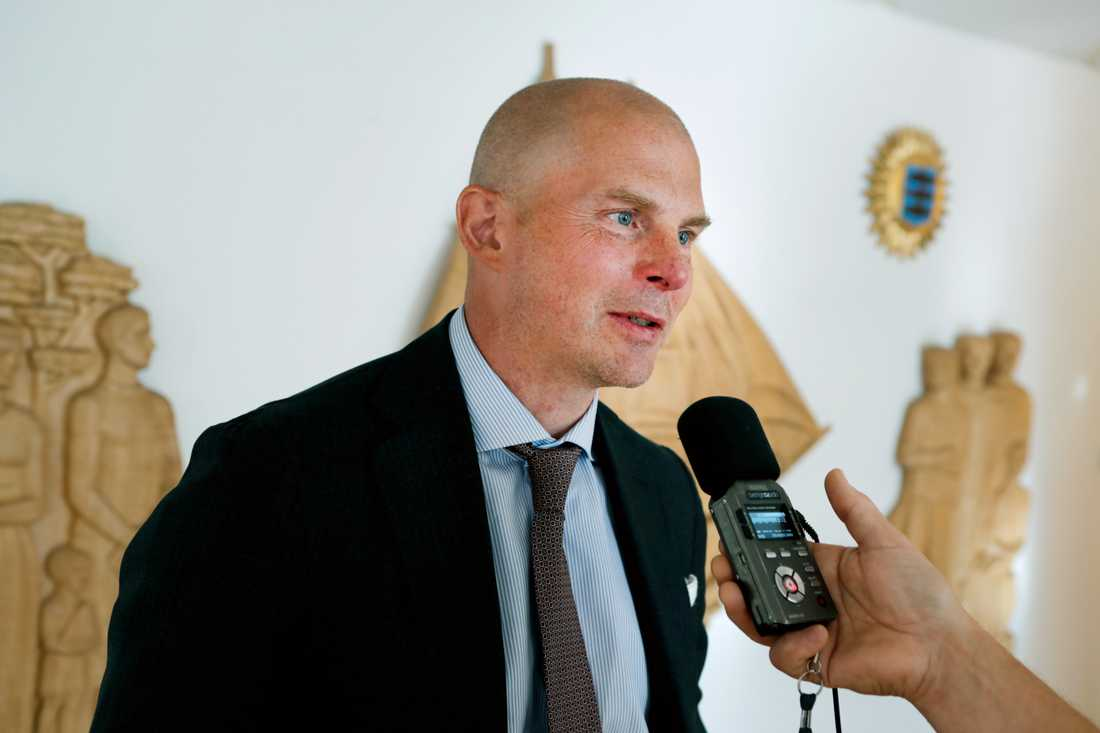Olof Kullinger, Daniel Kindbergs advokat.