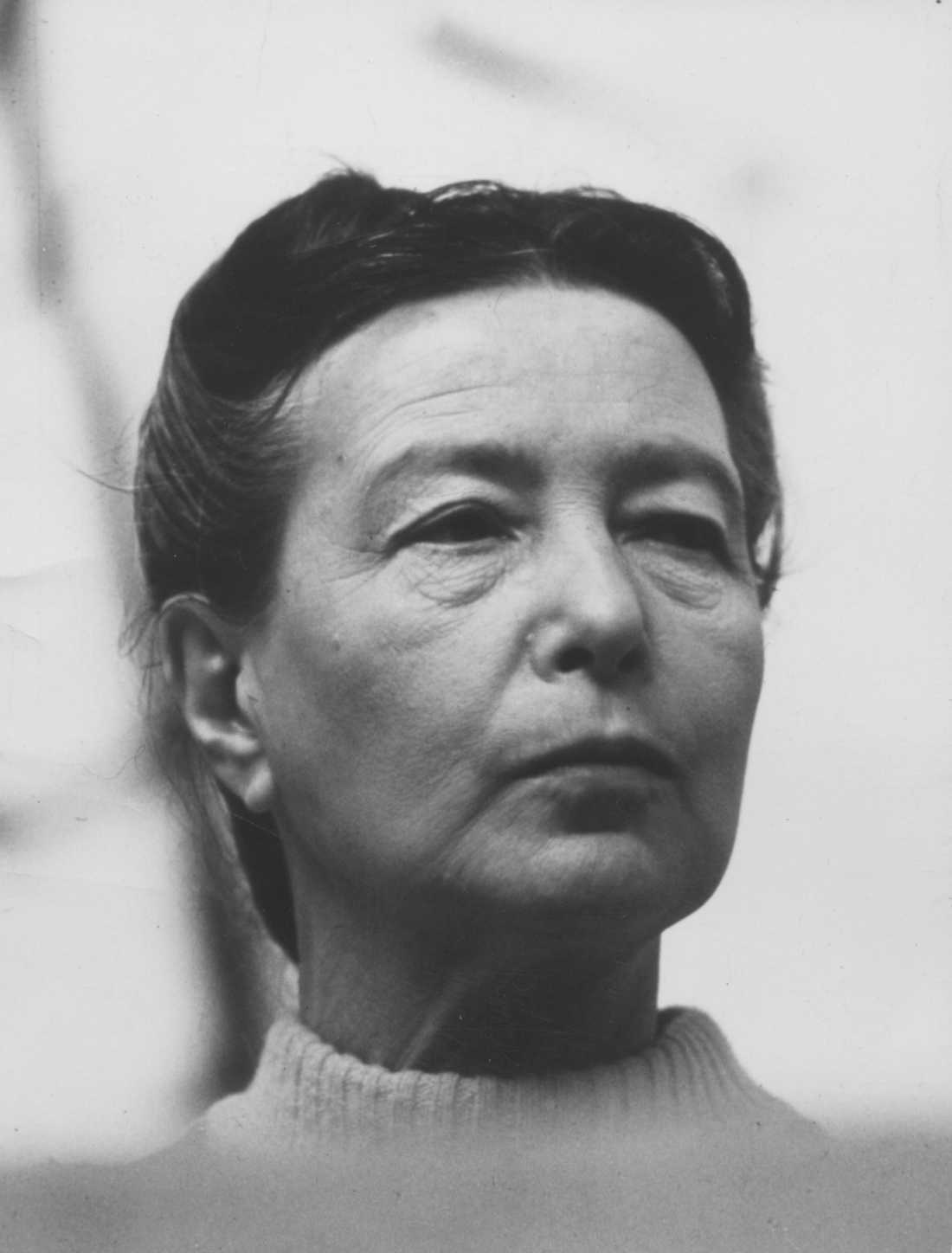 Simone de Beauvoir 1973.
