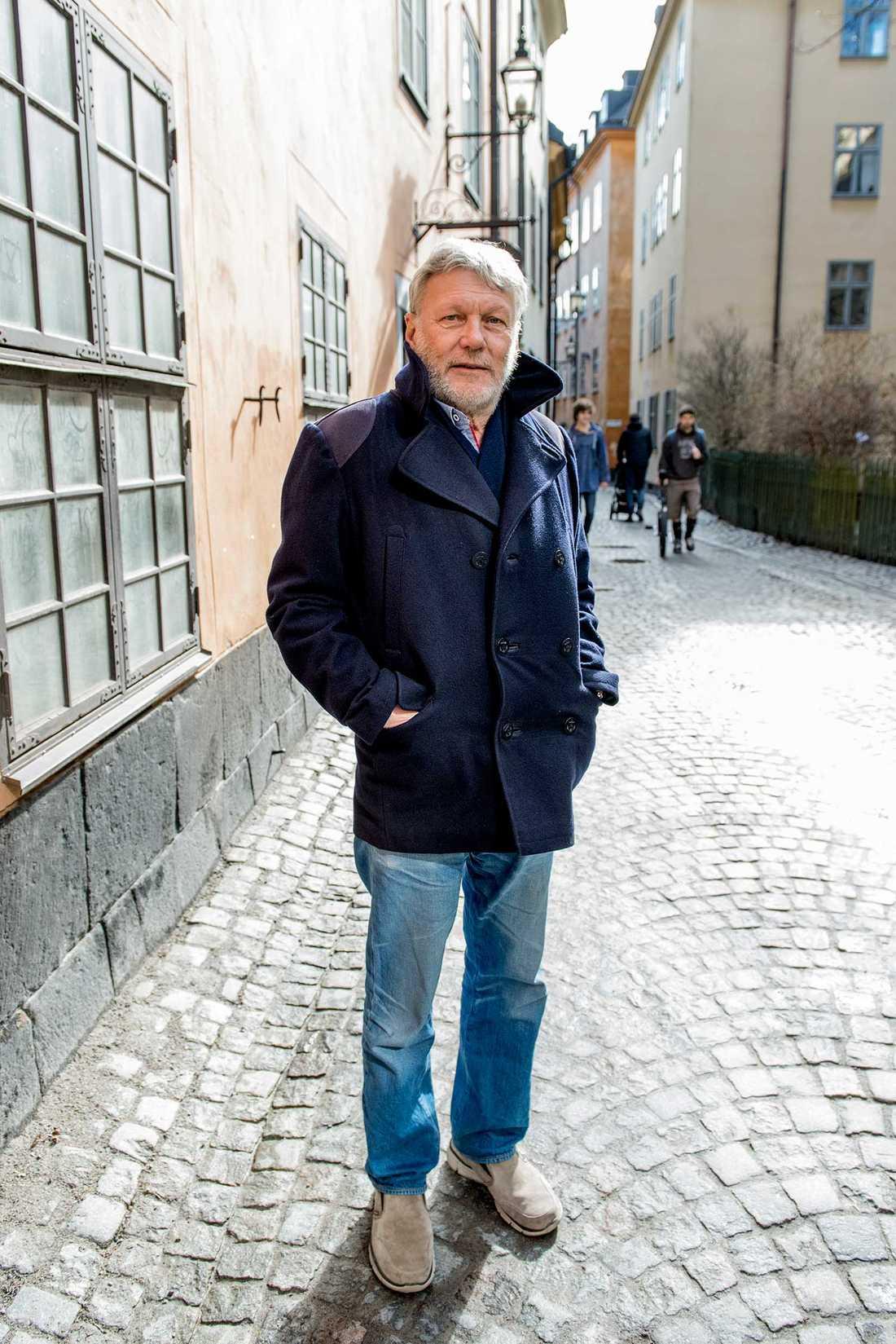 """""""Det här är stadens tystaste gata"""", säger Per Danielsson, 71."""