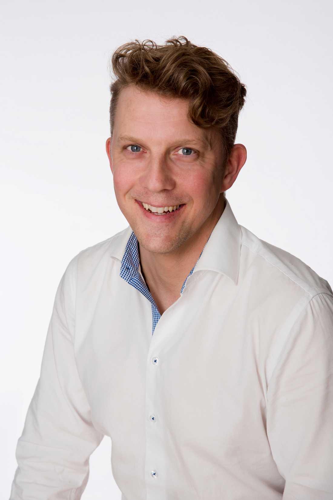 Mikael Olausson är områdesansvarig för säkerhet på Svenska Livräddningssällskapet.