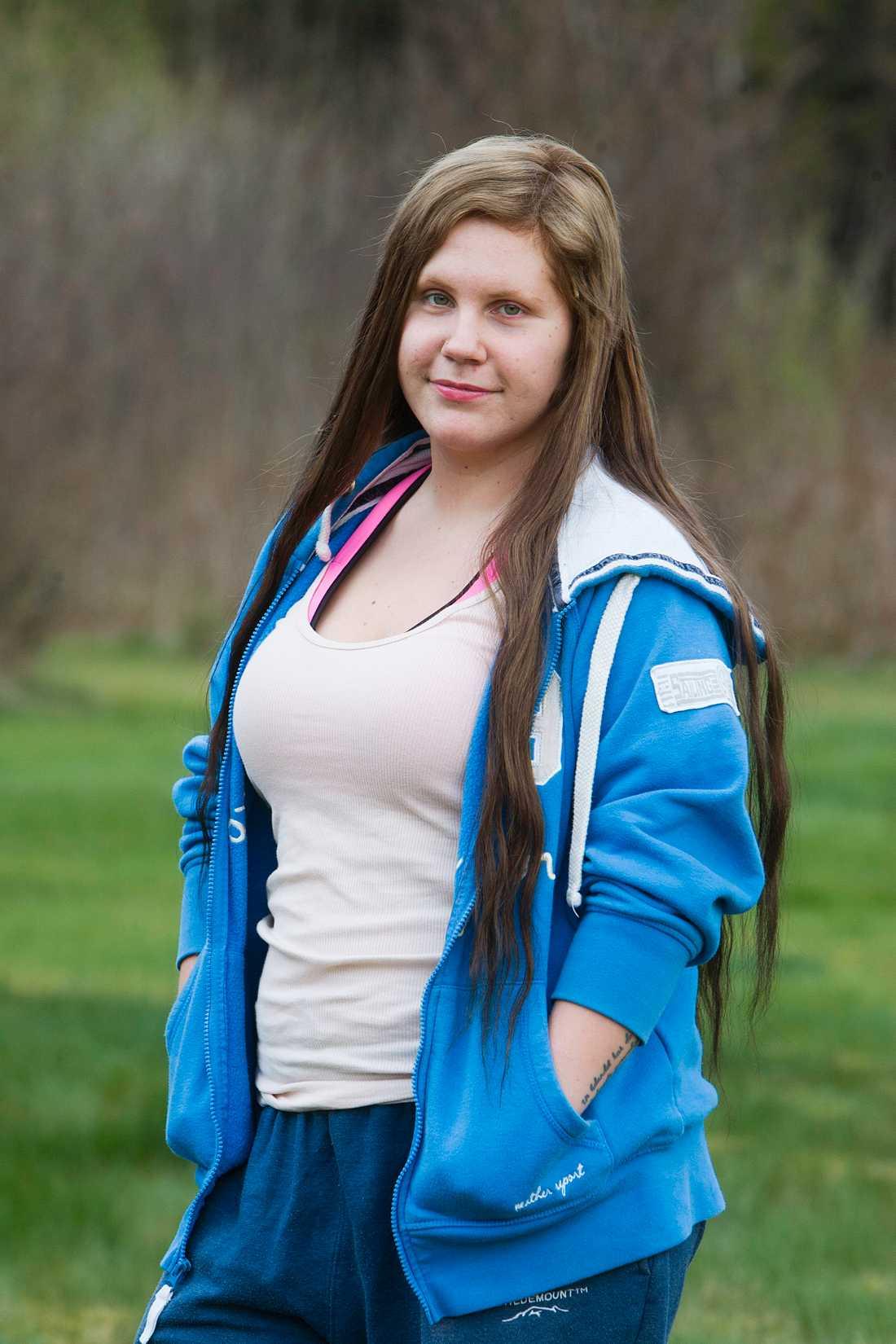 Marion Lindström 21 år höll på att mista livet av bantarpiller.