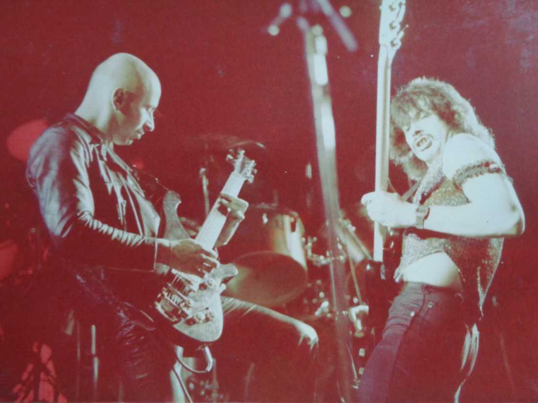 Frenzy live på Yeovil Town Hall, 1980.