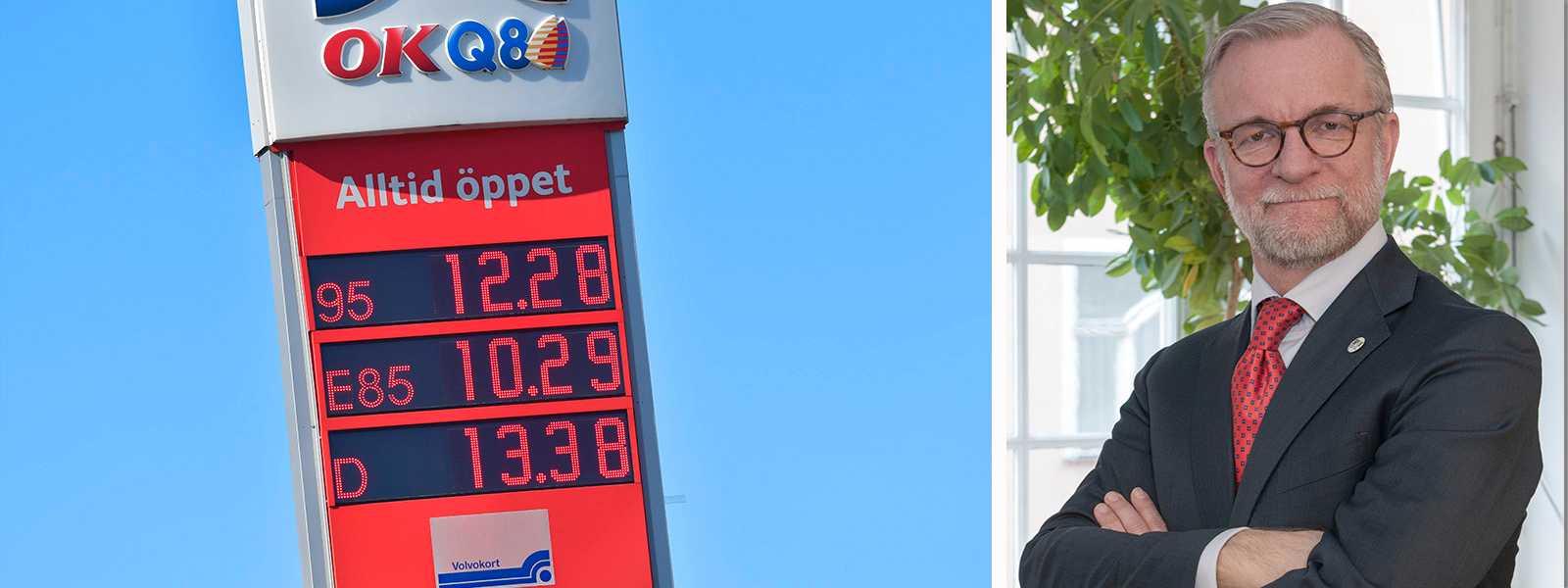 Så länge stannar låga bensinpriset