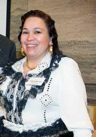Diana Nyman från Romska rådet i Göteborg