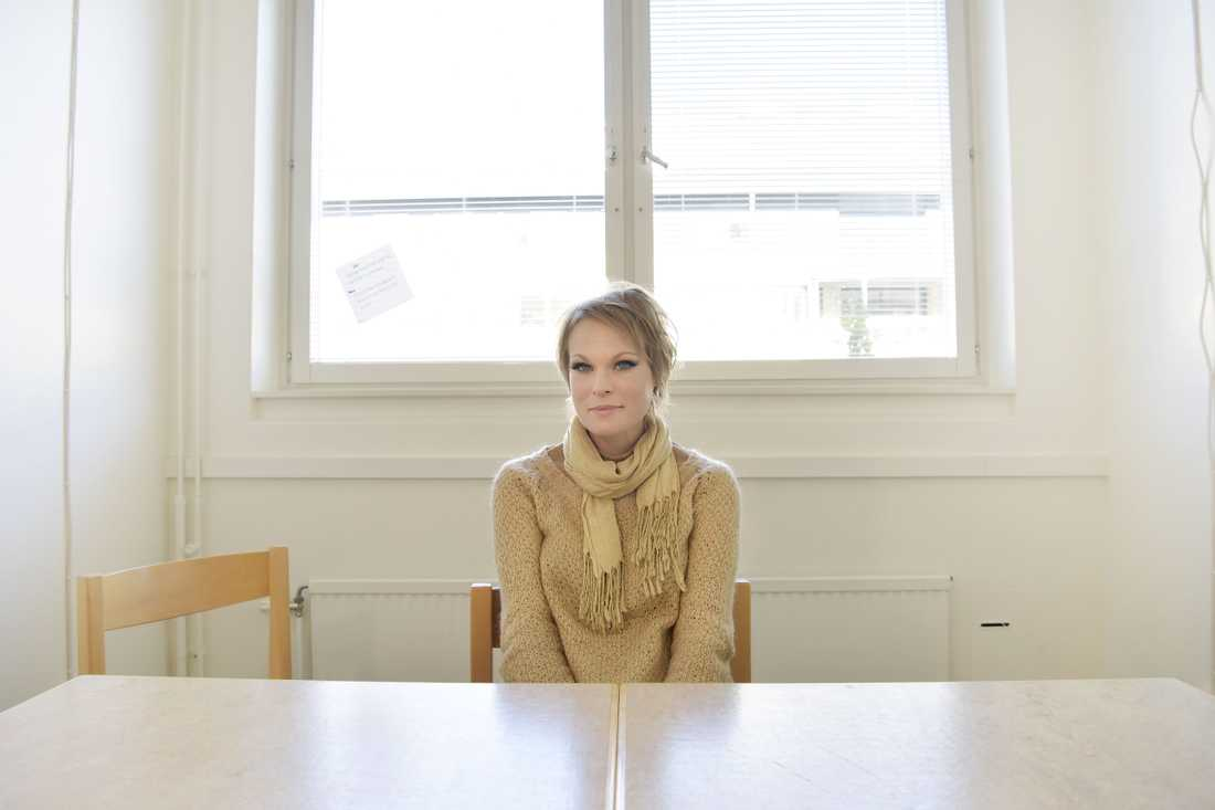 Tusentals svenskar följde småbarnsmammans resa.