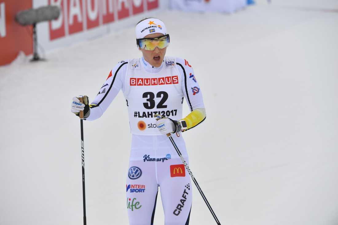 Stina Nilsson slutade 13:e.