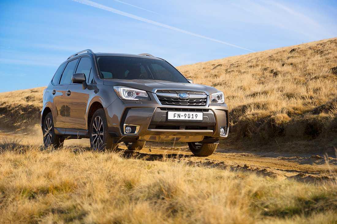 Subaru Forester Alla Subarubilar som Consumer Reports testat får bra betyg och rekommenderas av tidningen.