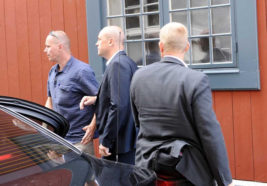 UNDERTECKNADE PERSONLIGEN Beslutet om att sekretessbelägga Sven Otto Littorins ip-nummer undertecknades av Fredrik Reinfeldt. Bara konstitutionsutskottet kan nu få ut uppgifterna då KU har särskilda befogenheter.