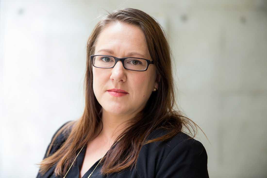 """Marte Michelet är aktuell med boken """"Det största brottet"""". Foto: TT"""