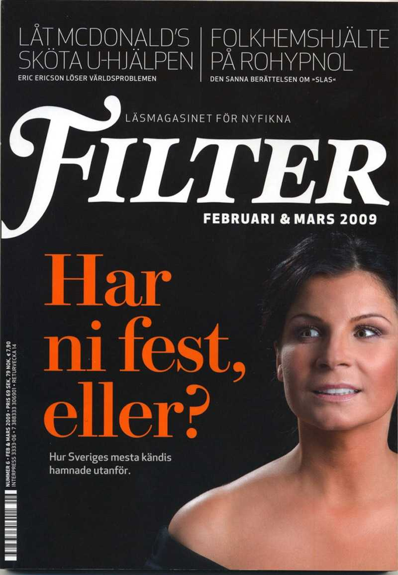 Carola-intervjun finns i nya numret av Filter som släpps i butik i helgen.
