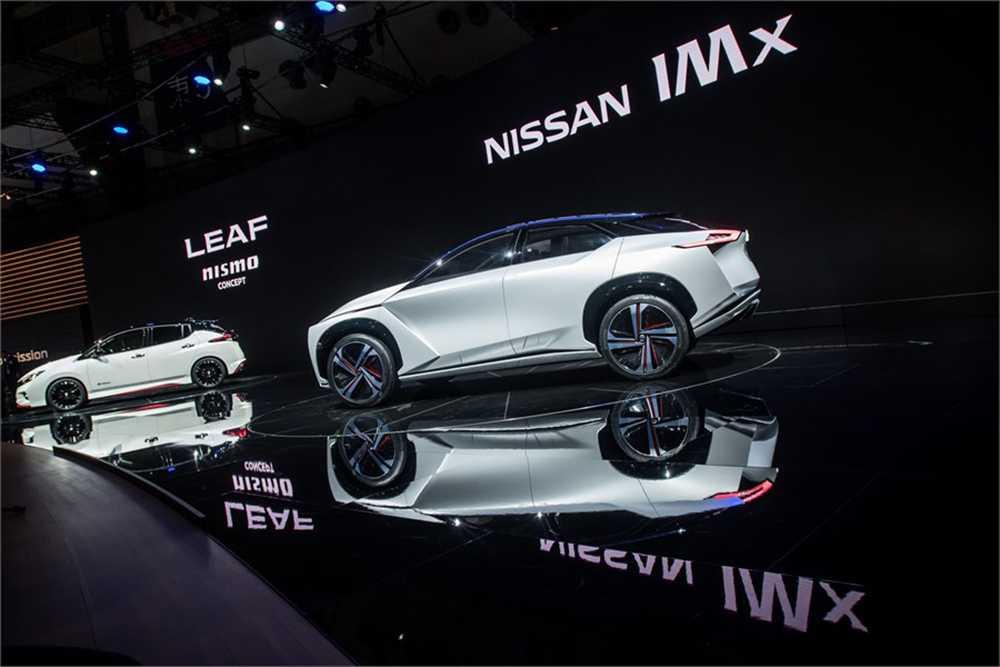 """Nissans konceptbil IMx kommer att varna fotgängare med ljudet """"Canto""""."""